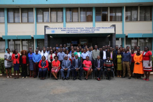 A group Photo of the participants during the induction training at the Institute For Meteorological Training and Research .