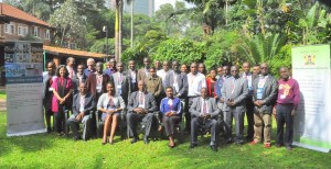 A memorable group photo of participants attending the workshop